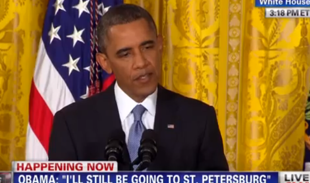 WATCH: President Obama Does Not Support An Olympic Boycott