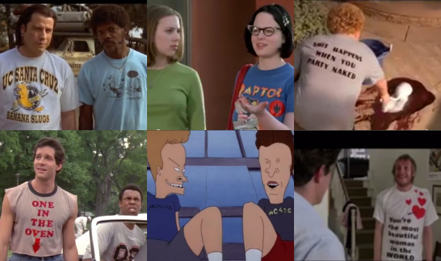 WATCH: The Best (And Worst) T-Shirts in Movies