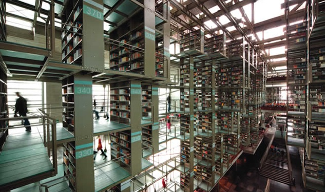 Out in Mexico City: Biblioteca Vasconcelos