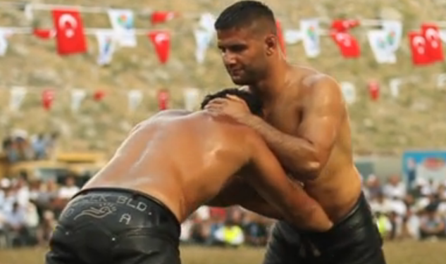 WATCH: Are Turkish Oil Wrestlers Hotter Than Tennis Pros?