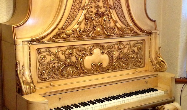 A Liberace Piano Up for Auction