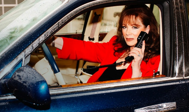 WATCH: It's Jackie Collins's World
