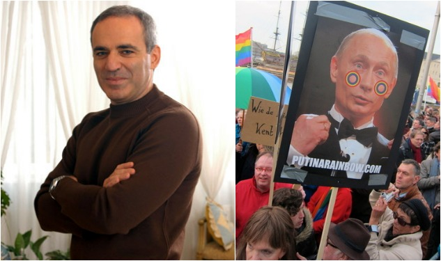 Garry Kasparov: Let's Boycott Putin at the Sochi Olympics