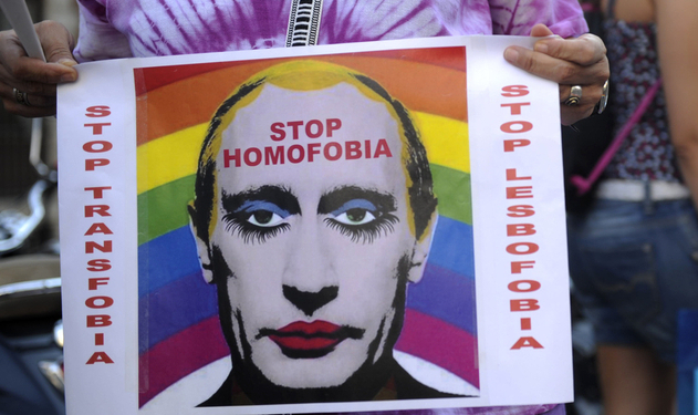 "Putin Will Give Gays Awards, ""Sometimes"""