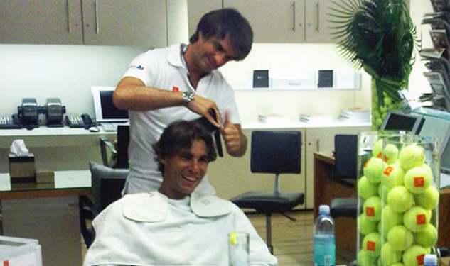 Djokovic vs. Nadal: Meet The Stylist Who Coifs The World's Top Two Tennis Players