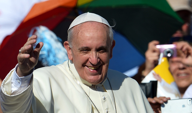 Would The Pope Call a Struggling Gay?