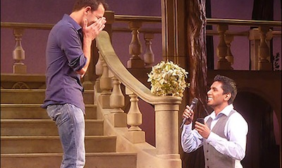WATCH: A Gay Wedding Proposal at Broadway's Cinderella