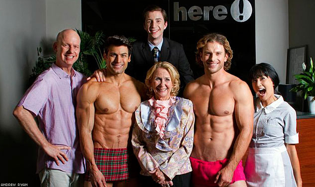EXCLUSIVE: Photo Reveals Hot Cast of Upcoming Here TV Comedy
