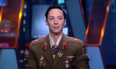WATCH: Johnny Weir Discuss Sochi Olympics with Olbermann