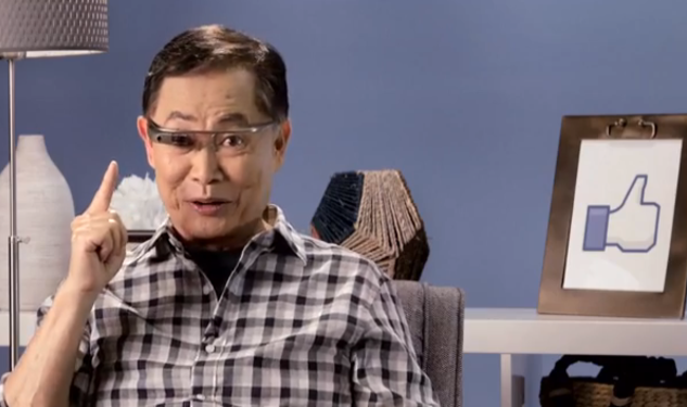 WATCH: Takei Takes On Google Glass, Putin