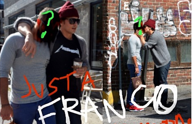 Franco Makes Out With a Dude (Surprised?)