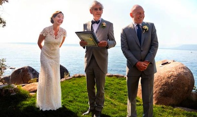 Ian McKellen Officiated at Patrick Stewart's Wedding