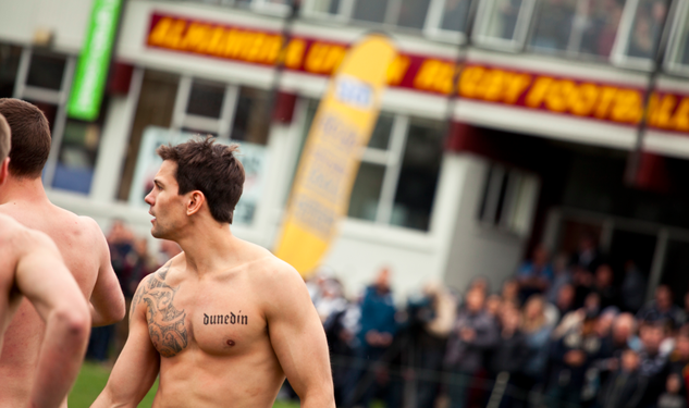 Naked Rugby and Sweet Art in Dunedin, NZ
