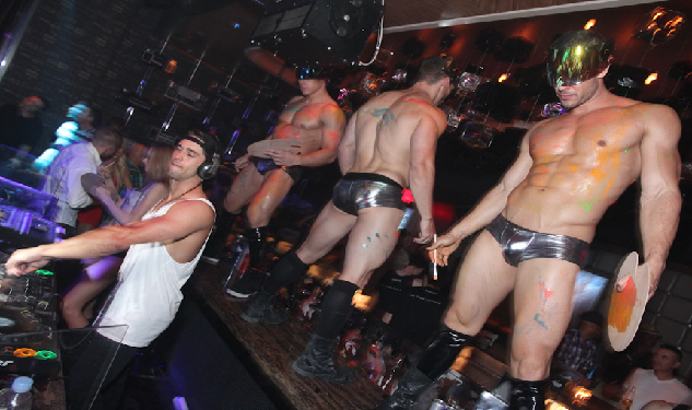 Photos The Newest Gay Party In Vegas