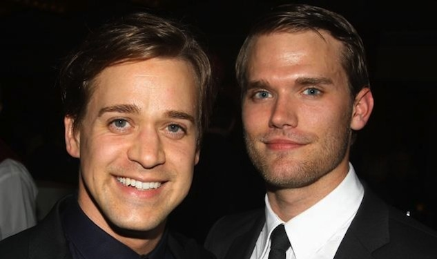 T.R. Knight Tied the Knot with His Boyfriend Over the Weekend
