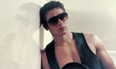 First Looking: Jonathan Groff in Leather