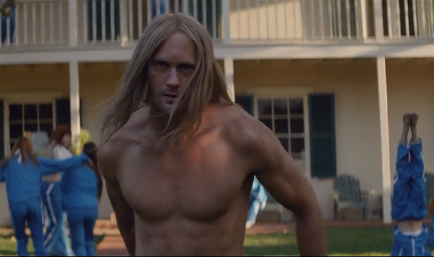 WATCH: Alexander Skarsgard as a Cult Leader