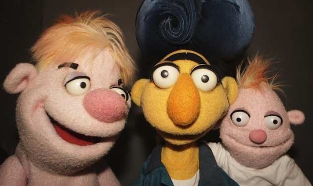 Are These Israeli Puppets Gay?