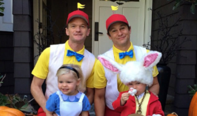Neil Patrick Harris & David Burtka are Doing Alice In Wonderland For Halloween