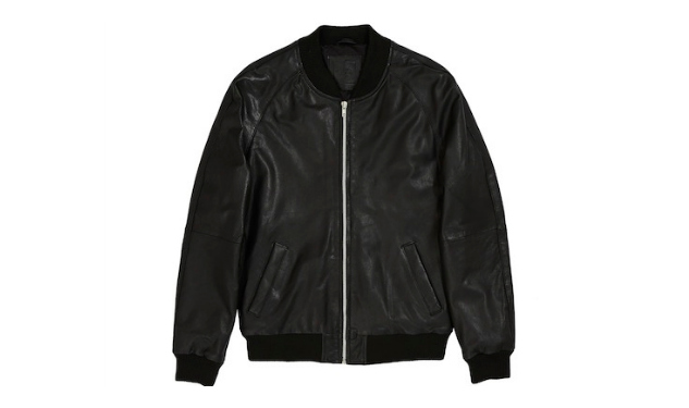 Daily Crush: ASOS Leather Bomber Jacket