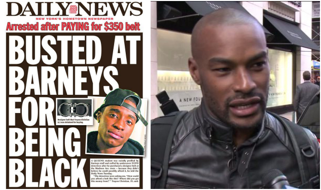 Barneys' Racial Profiling Scandal: Model Tyson Beckford Speaks Out