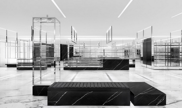 Saint Laurent's First Menswear Mecca Opens In San Francisco