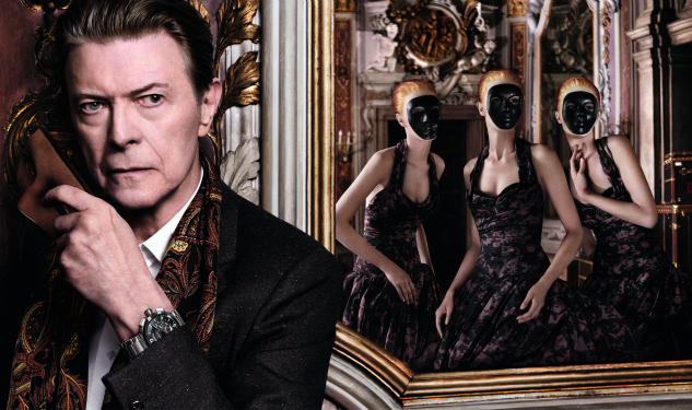 First Look: David Bowie Poses For Louis Vuitton