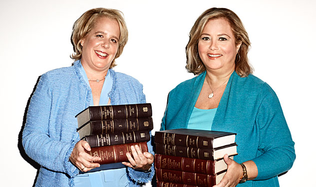 Out100: Roberta Kaplan and Hilary Rosen
