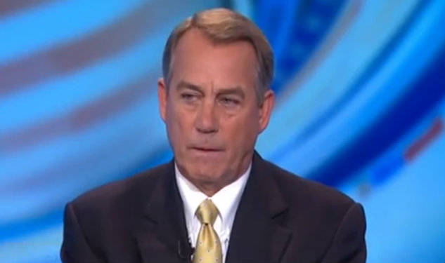 John Boehner Fears ENDA Will 'Increase Frivolous Litigation & Cost American Jobs'