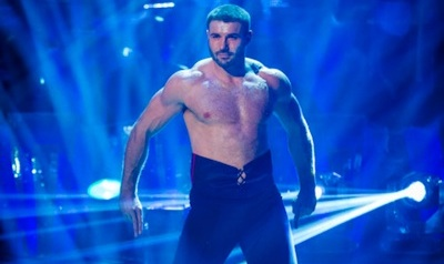 Shirtless Ben Cohen Dances Paso Doble