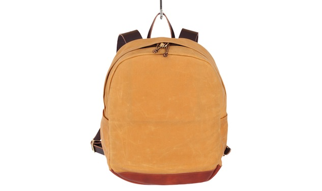 Daily Crush: Joshu+Vela Wax Zip Backpack