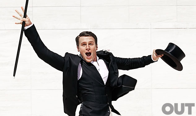 Quote of the Day: Jonathan Groff On His First TV Sex Scenes