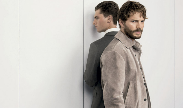 Model Watch: Jamie Dornan For Ermenegildo Zegna Couture