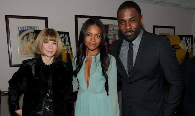 Idris Elba Wears Burberry at the NYC Premiere of Mandela: Long Walk To Freedom