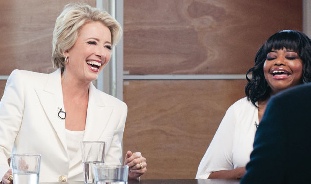 Quote of the Day: Emma Thompson on Snogging Meryl Streep