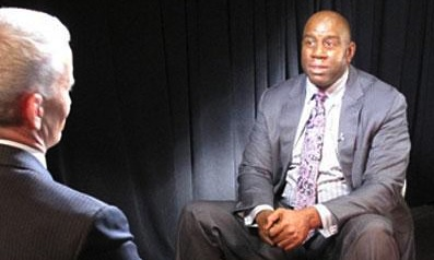 Magic Johnson Asks Gay Community to Take Care of His Son