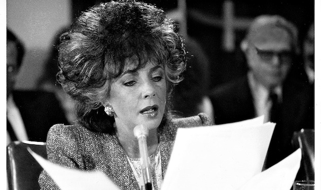 The Battle of amfAR: How Liz Taylor Tricked Reagan Into Talking About AIDS