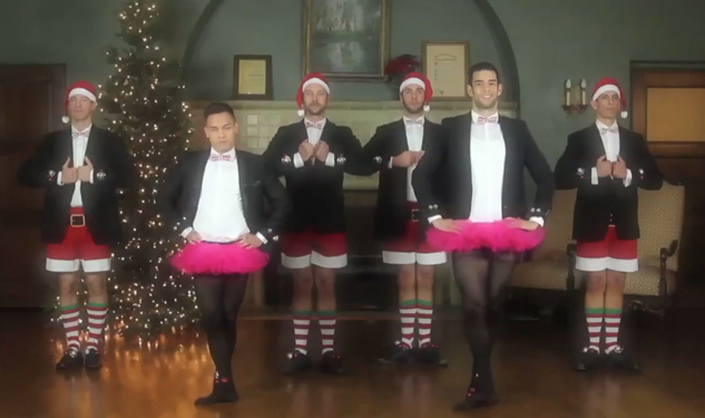 Gay Men's Chorus Performs Parody of Joe Boxer Christmas Ad