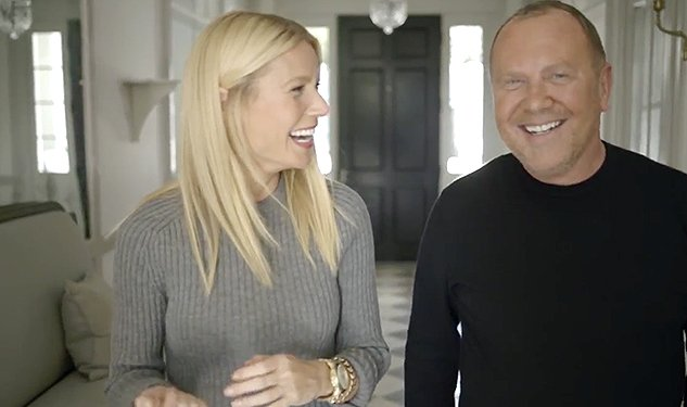 WATCH: Gwyneth Paltrow & Michael Kors Throw The Beigest Christmas Party Ever