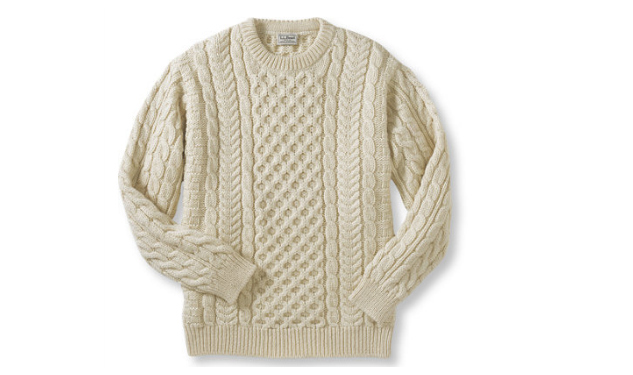 Daily Crush: The Heritage Sweater by L.L.Bean