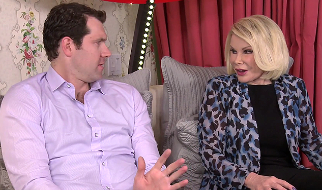 WATCH: Billy Eichner Gets into Bed with Joan Rivers