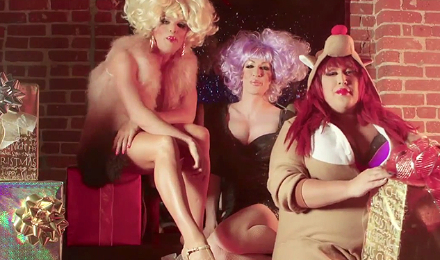 WATCH: Detox, Willam and Vicky Vox Sing Naughty Christmas Song