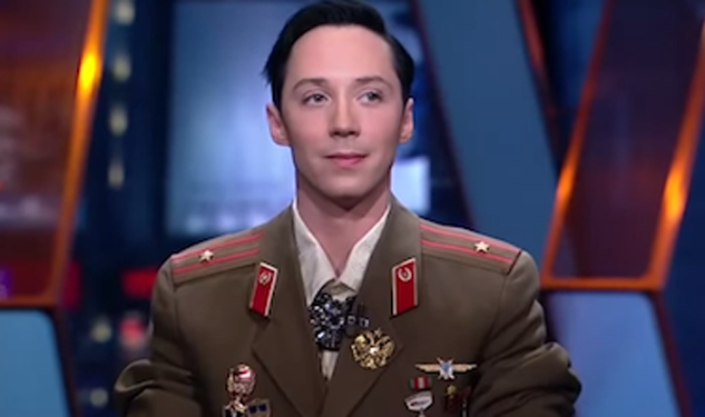 Johnny Weir Scrubs His Bio of Russian Government Work