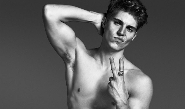 Nolan Funk Drops His Pants For Versace