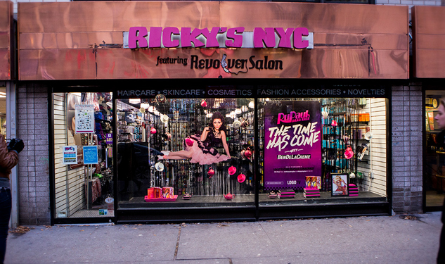 Look Out! RuPaul's Drag Race Window Displays Taking Over New York City