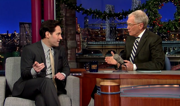 Paul Rudd Witnessed a Drag Queen Brawl While Filming Anchorman 2 Fight Scene