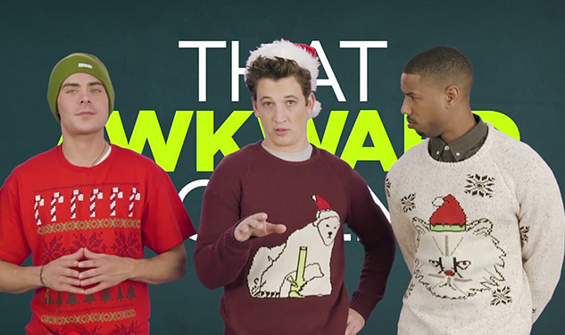 Exclusive: Zac Efron, Michael B. Jordan & Miles Teller Wish You a Naughty Christmas