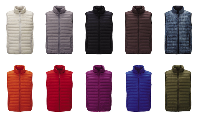 Daily Crush: The Ultra-Light Down Vest by Uniqlo