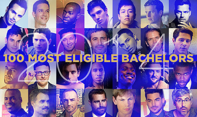 100 Most Eligible Bachelors, 2014