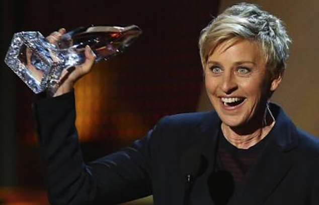 Ellen DeGeneres Wins 14th People's Choice Award